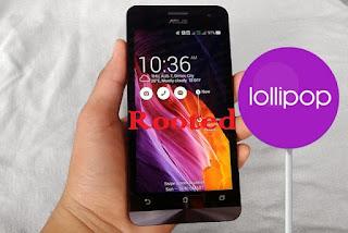 Cara Root +Unroot Asus Zenfone 5 Lollipop 5.0+