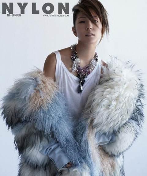 Korea Singer MoA on Nylon Magazine