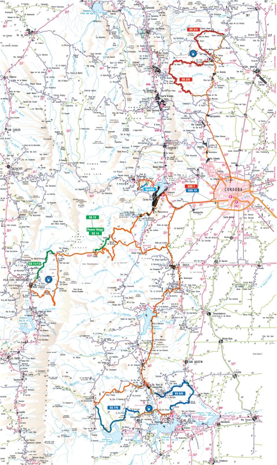 Rally Argentina 2013: Confirmado del 1 al 4 de mayo