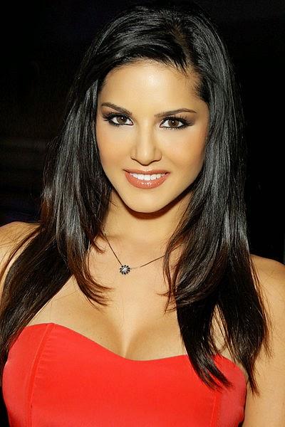 Sunny Leone Hot in Red