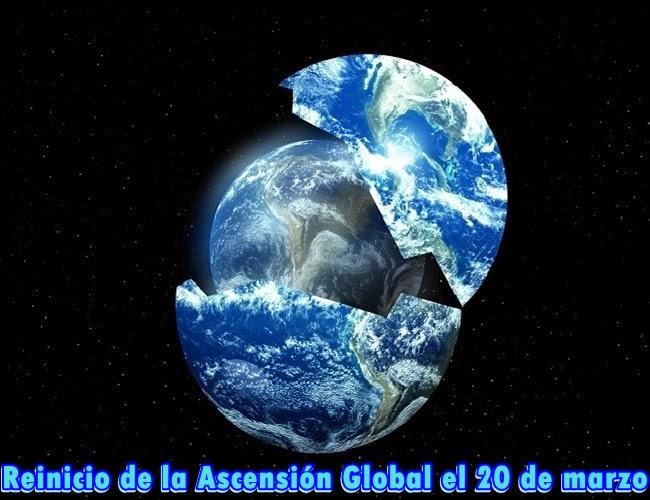 Ya está en marcha el plan de Reinicio de la Ascensión Global el 20 de marzo y la apertura de las Puertas del Cielo.