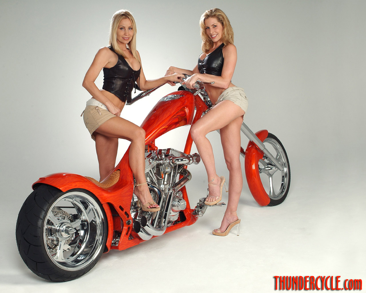 Bike With Babe Wallpapers