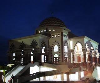 Masjid Baiturrahman Dilengkapi 7 Tangga oleh Kemenag Kabupaten Karimun