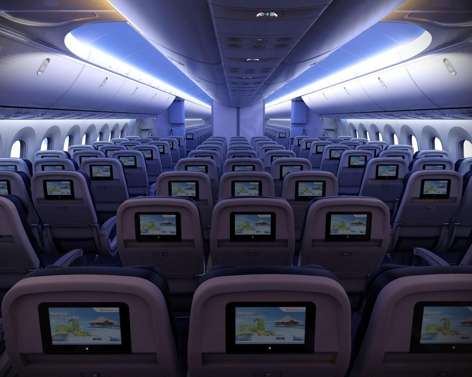 Viet Aviation Thomson Airways Boeing 787 Cabin Interior