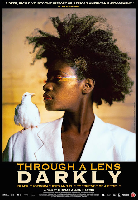 Film poster for THROUGH A LENS DARKLY: BLACK PHOTOGRAPHERS AND THE EMERGENCE OF A PEOPLE, a film by Thomas Allen Harris.