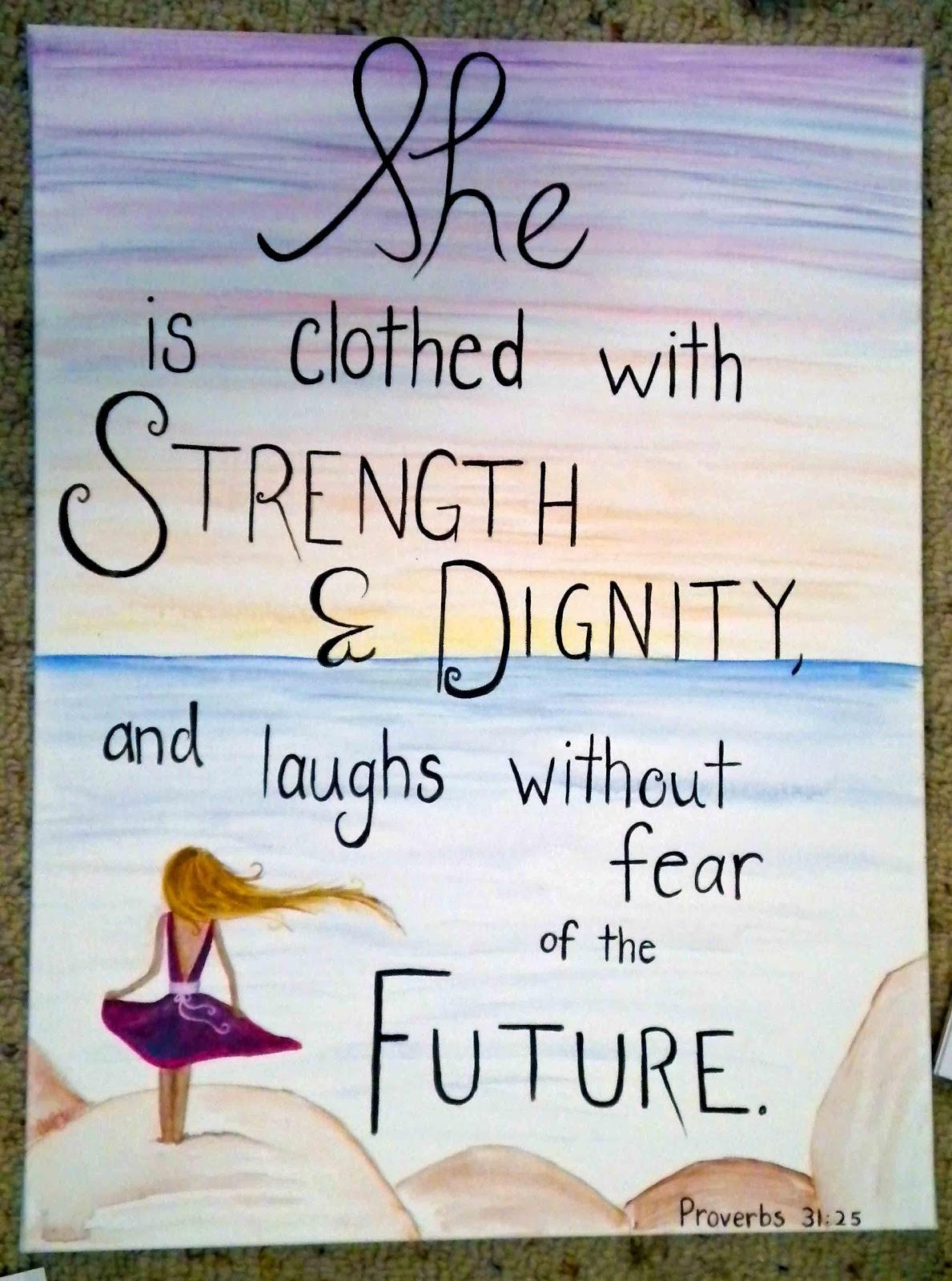 Proverbs 31 25