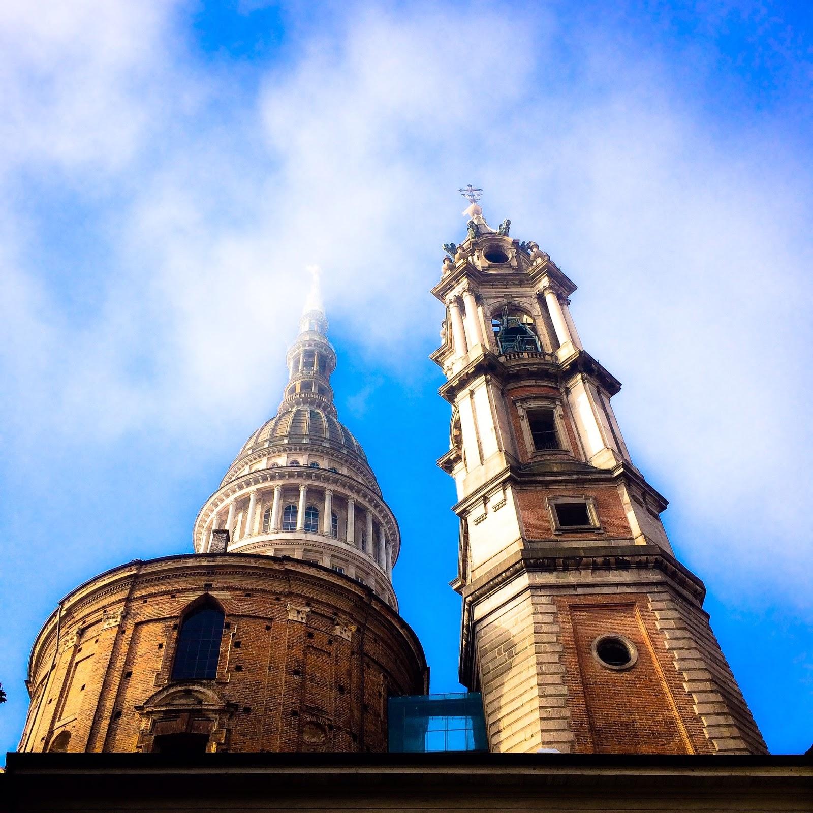chiediloalladani la cupola della basilica di san gaudenzio nel cielo di novara. Black Bedroom Furniture Sets. Home Design Ideas