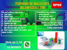 PERKHIDMATAN ANALISA DATA SPSS 2018