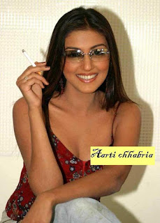 aarti chhabria smoking
