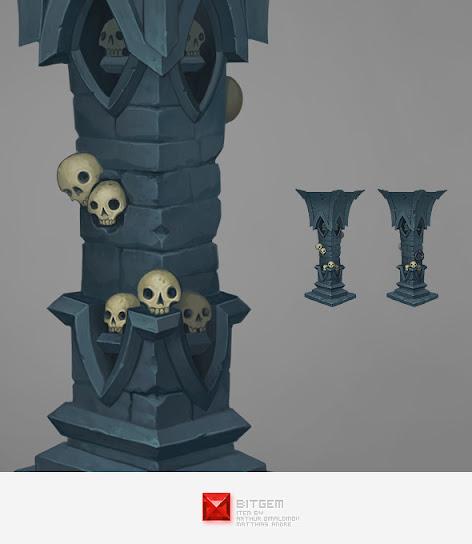 Stone Pillar 02 Concept