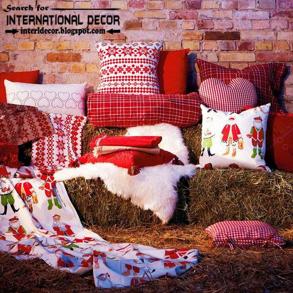 New Ikea Christmas decorations 2015, new year cushions from Ikea 2015