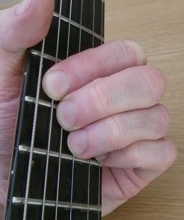 C7#9 guitar chord
