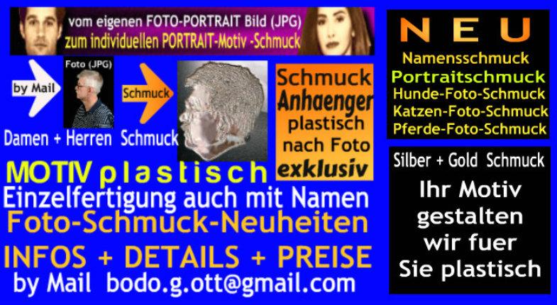 Portrait Schmuck -- Relief Schmuck