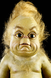 baby grinch from How The Grinch Stole Christmas .