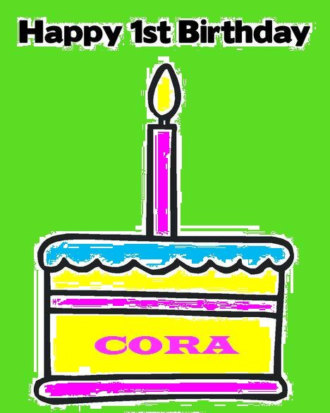 Never listless birthday numero uno part 3 for Numero cora