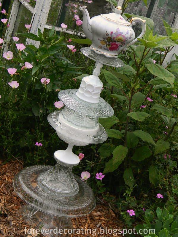 Forever Decorating Garden Art Totem