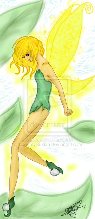 Tinker Bell por DreamySuklaa