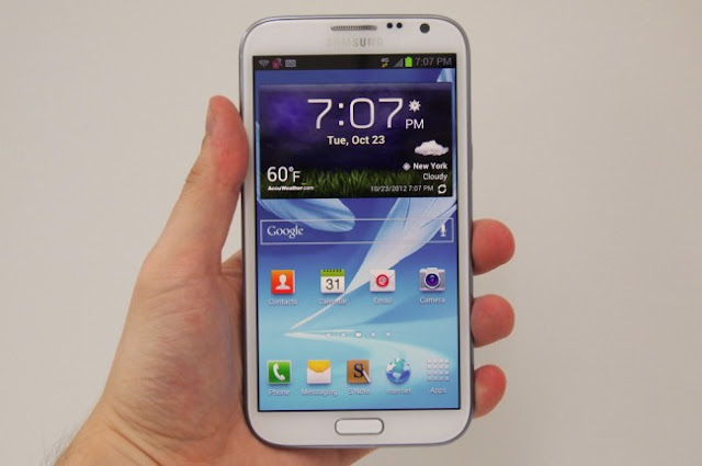 Galaxy Note leaked image 3