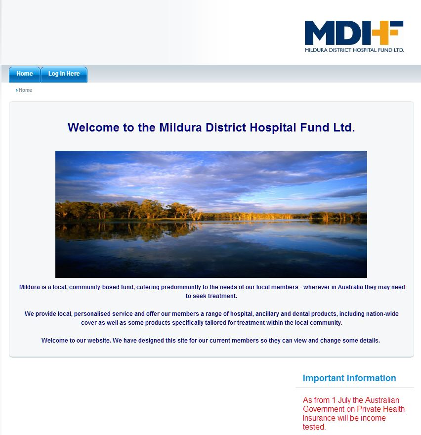 MILDURA DISTRICT HOSPITAL FUND LTD