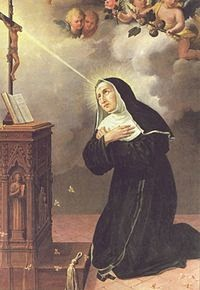 Santa Rita de Casia.