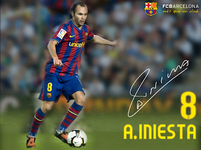 Andres Iniesta wallpapers-Club-Country