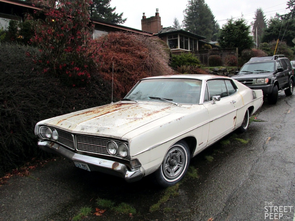the street peep 1968 ford galaxie 500 fastback. Cars Review. Best American Auto & Cars Review
