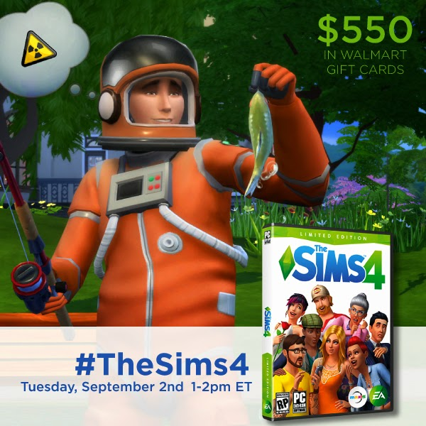 Join Me and RSVP for the #TheSims4 Twitter Party 9/2 1pm EST