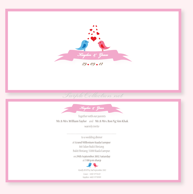 Love Birds Wedding Invitation Cards, Love Birds, Love, Birds, Wedding, Cards, invitation cards