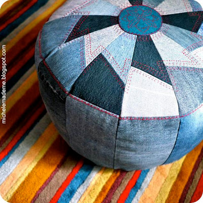 Cool Ways To Reuse Old Denim (30) 8
