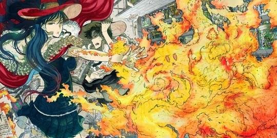 Actu Manga, Critique Manga, Kana, Manga, Ryu Mizunagi, Shonen, Shonen Manga, Witchcraft Works,