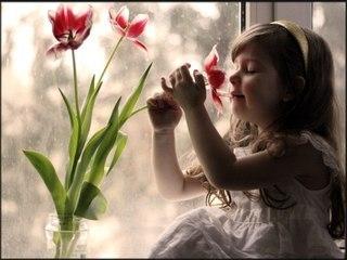 девочка цветок стихи