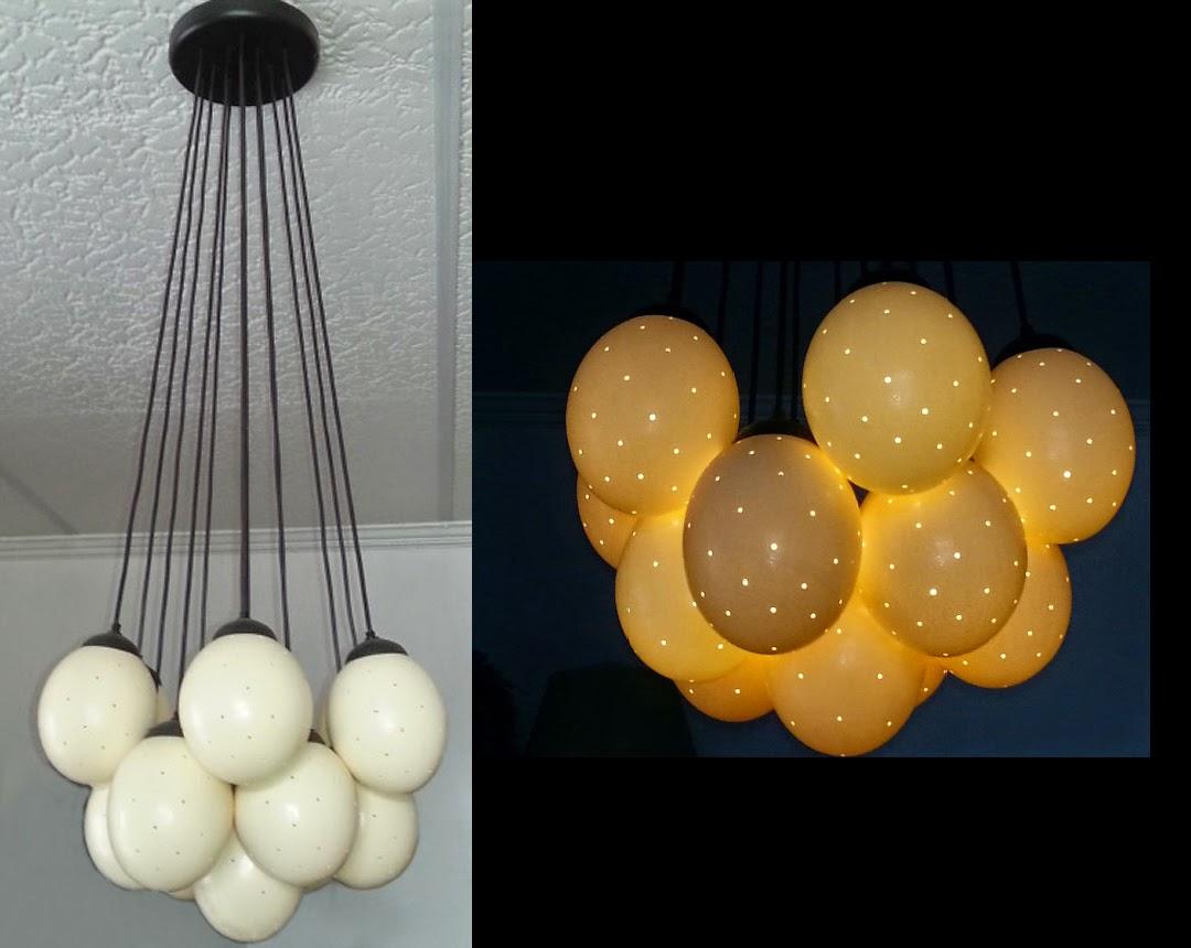 Ostrich Egg Lighting