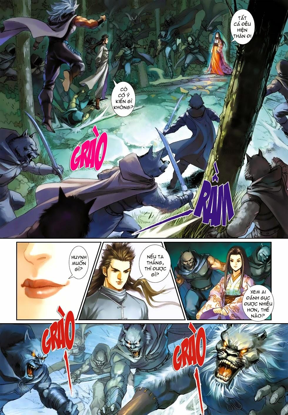 Thần Binh Tiền Truyện 4 - Huyền Thiên Tà Đế chap 3 - Trang 25