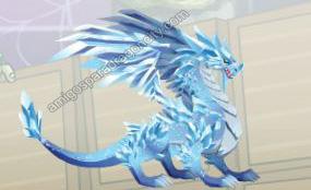 imagen del dragon glacial