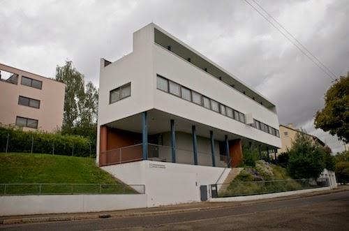 horizons nouveaux weissenhofsiedlung haus le corbusier. Black Bedroom Furniture Sets. Home Design Ideas