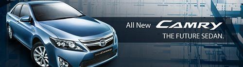 Daftar Harga Mobil Toyota Seri Camry Terbaru