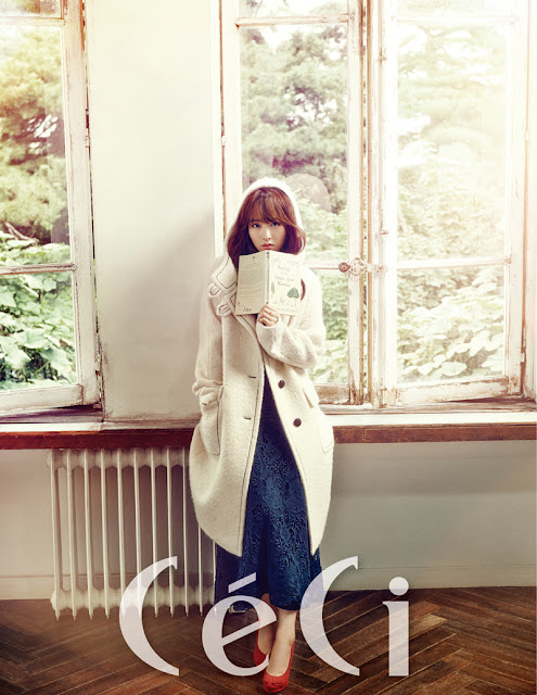 Steal Park Bo Young's Snuggly Winter Look