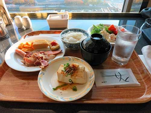 京都ホテルオークラオリゾンテ朝食01