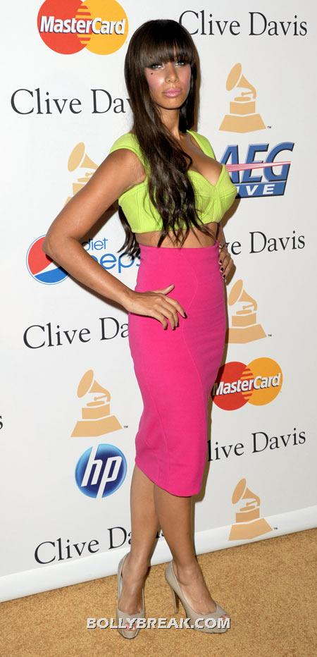 Leona Lewis - (20) - Celebrity Pictures in Neon Dresses - Bollywood, Hollywood