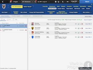 Football Manager 2014 Transfer centre