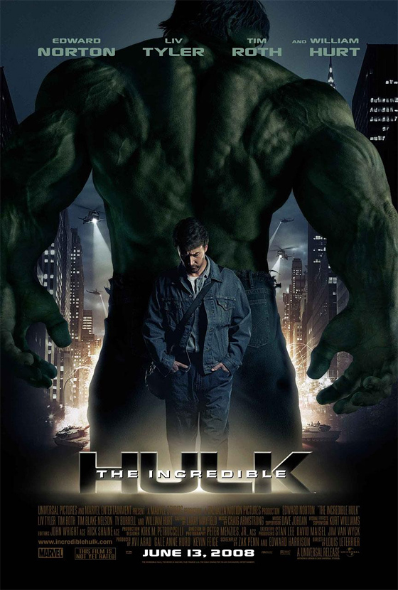 Hulk The Incredible Poster