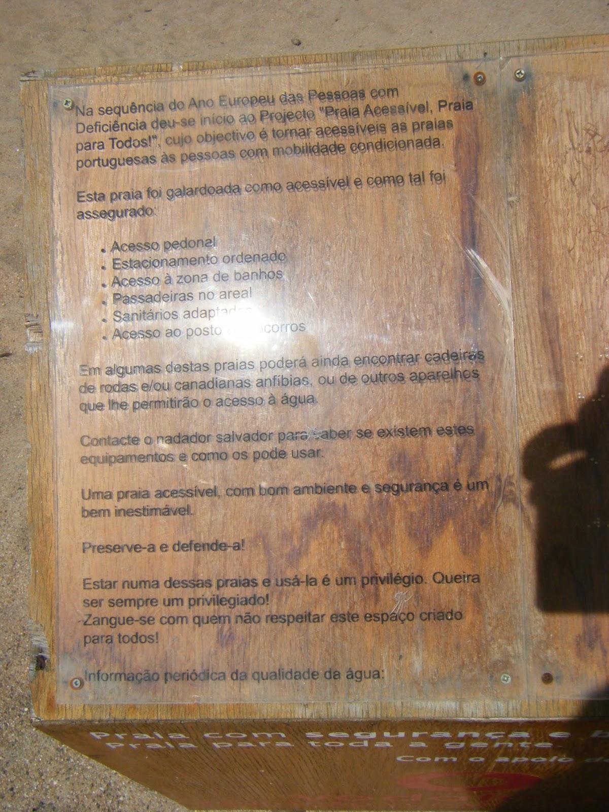 Placa de informação
