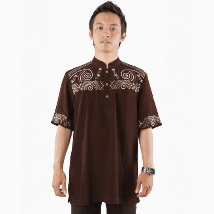 Gambar model baju muslim remaja putra terbaru 5