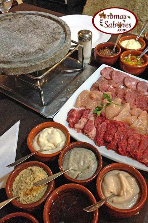 Sequência de fondue - Gramado