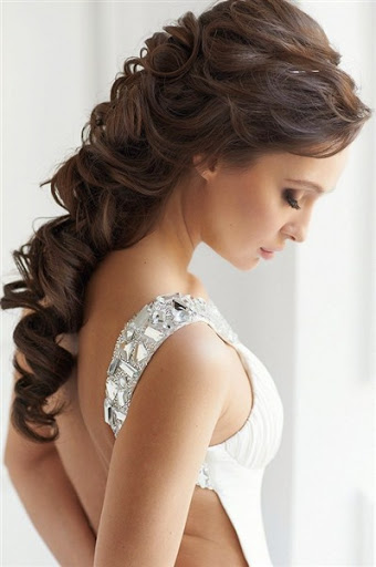 Long party hairstyles for women 2015 trends for wedding party, holiday party, bridal party and dinner party.