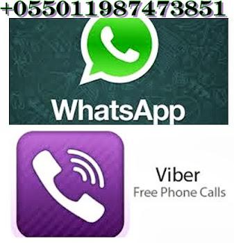 Viber ou Whats app