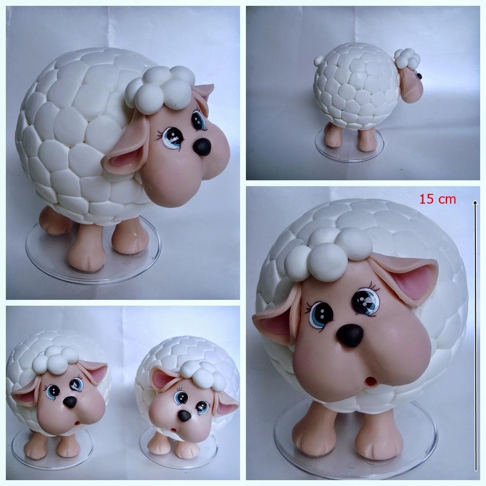 ovelha de biscuit