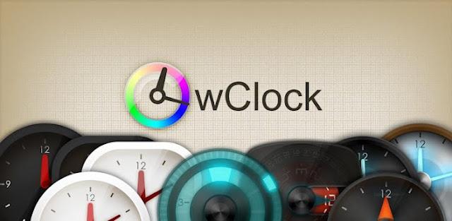 wClock widget