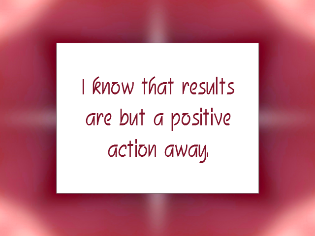 PROACTIVE affirmation