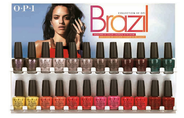OPI Brazil Collection Summer 2014
